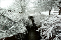 SNOW ON THE LITTLE BROOK